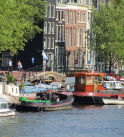 Borrelboot in Amsterdam