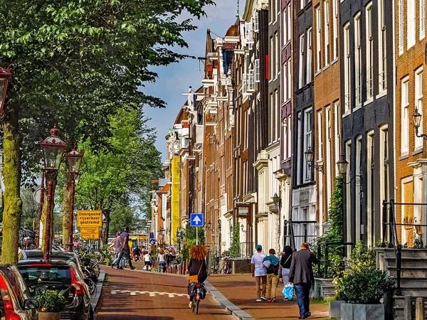 Kleine Fietstour in Amsterdam